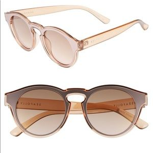 Seafolly Bronte Mirrored Sunglasses in Blush